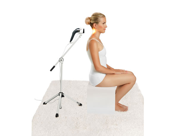 Application Lampe Bioptron MedAll