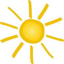 lumière visible du soleil